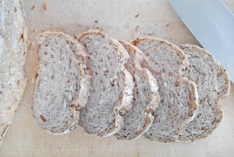 paine din seminte fara faina